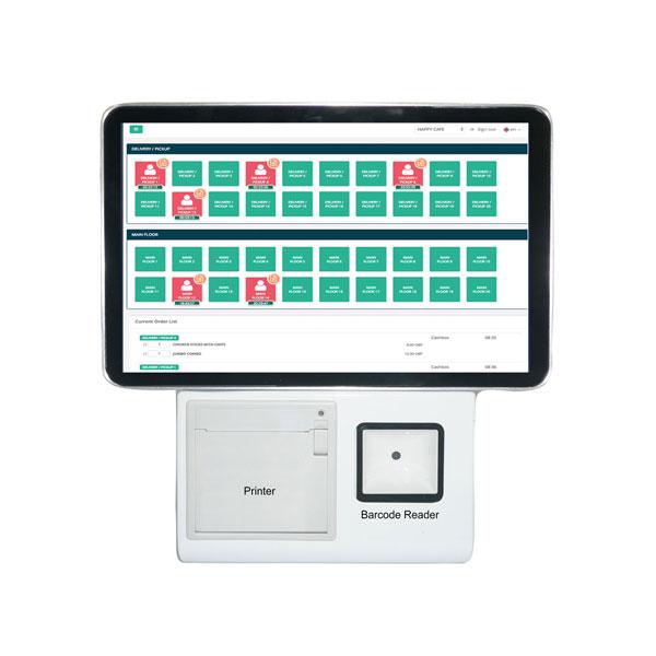 安卓10.1英寸餐馆超市自助结账设备