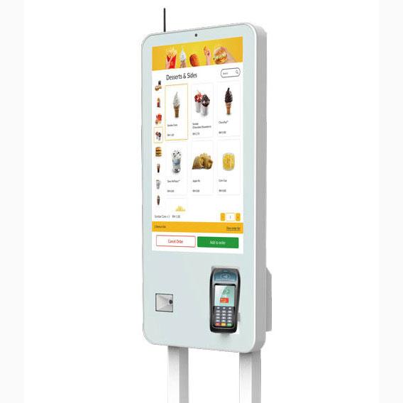 餐馆自助点餐结账触摸显示器